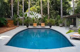 Concrete Slabs For Backyard by Outdoor Design Trend 23 Fabulous Concrete Pool Deck Ideas