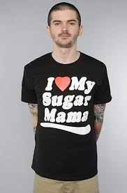 Sugar Mama Meme - the sugar mama tee in black by married to the mob discount on the