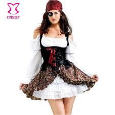 plus size costumes pirate captain fancy dress fantasia