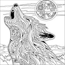for adults wolf coloring pages for adults blockify co