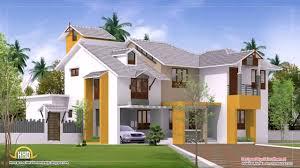 Arabian Model House Elevation Kerala Modern House Plans In Kerala Youtube