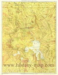 Yellowstone Park Map Map