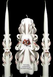 nightmare before christmas wedding unity candle set 100