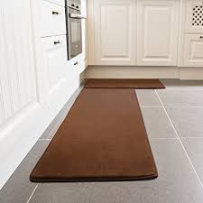 Microfiber Runner Rug Kitchen Rug Set Leevan Memory Foam Kitchen Comfort