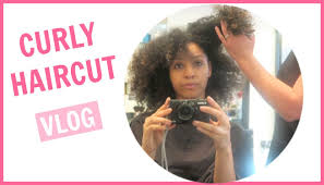 my first curly haircut experience uk vlog youtube