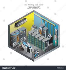 3d isometric update man working data stock vector 554462119