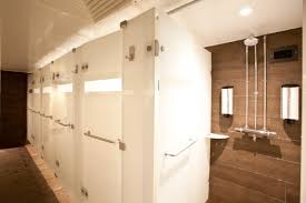 Shower Room by Virgin Active Shower U0026 Locker Room Refurbishments Fitness