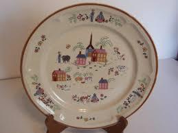 dinner plate newcor vintage stoneware 1986