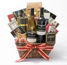 gift baskets with wine vineyards rustic wine country 2 bottle gift basket