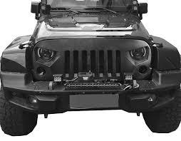 jeep wrangler front grill amazon com opar matte black optimus front grille for 2007 2018 jeep