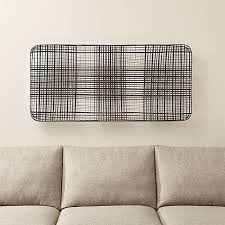 Crate And Barrel Wall Sconce Tobacco Basket Metal Wall Art Crate And Barrel