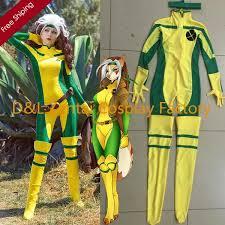Catsuit Halloween Costumes 2015 Halloween Costume Men Rogue Costume Yellow Green