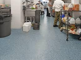 healthy hygienic commerical kitchen restaurant flooring