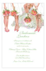 bridesmaid luncheon invitation all the bridesmaids luncheon invitation polka dot design