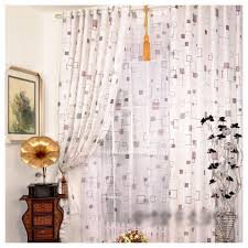 Long White Curtains Long Curtains For Living Room Decorate The House With Beautiful