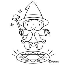 imagenes de halloween tiernas para colorear gran mago dibujalia dibujos para colorear eventos especiales