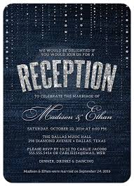 after the wedding party invitations masterly wording for wedding reception only invitations
