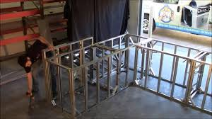 A Frame Kit by Build Outdoor Kitchen Frame In Under 5 Minutes Amazing Youtube