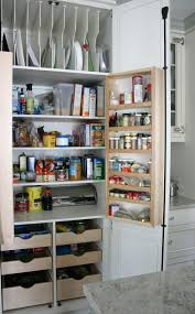 love this storage pantry idea top shelves great for lids and