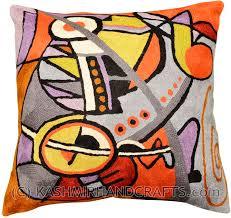 Decorative Pillows Modern Wool Modern Pillows Archives Kashmir Fine Arts U0026 Craftskashmir