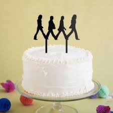 beatles cake toppers cake toppers holy you re birthday cake topper