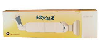 chambre inhalation b babyhaler chambre inhalation bébé enfant gsk illicopharma