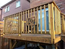 How To Build A Deck Handrail Kitchen Brilliant Building Wooden Railings Installing Wood Deck