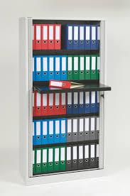 premium binder storage 4 shelf tambour cabinet professional