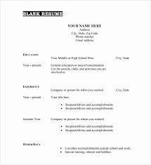 good resume format pdf resume sle templates resume sle templates