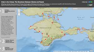 Geography Of Russia by Interactive Map Provides Geographic Look At Ukraine And Crimea