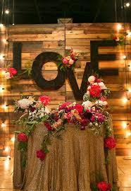 wedding backdrop letters 27 coolest sweetheart table backdrops to try weddingomania