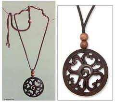 necklace with shell pendant images Hand made floral coconut shell pendant necklace like a flower jpg