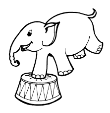 Circus Coloring Pages Circus Coloring Page