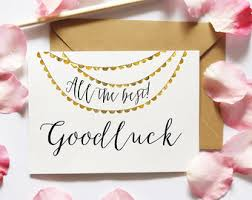 luck cards etsy