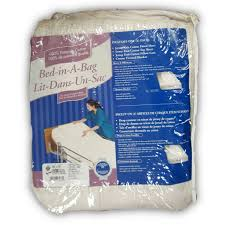 cotton bed in a bag blanket sheet kit for home hospital beds