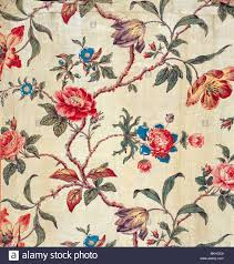 Mid Century Patterns by Floral Pattern England Mid 19th Century Stock Photo Royalty