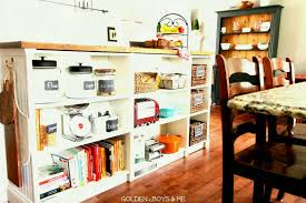 kitchen island ikea hack golden boys and me bookshelves turned kitchen island ikea hack hacks