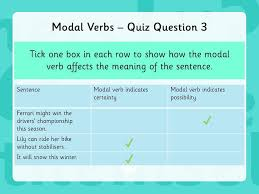 year 6 grammar revision modal verbs ppt download
