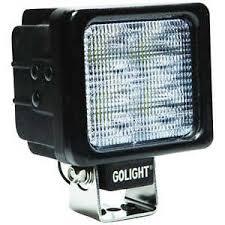 go light magnetic base golight model gxl 4021 led work light with magnetic base ebay