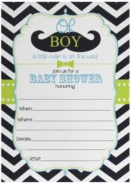 amazon com 50 mustache thank you cards boy baby shower