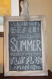 best 25 summer chalkboard art ideas on pinterest summer