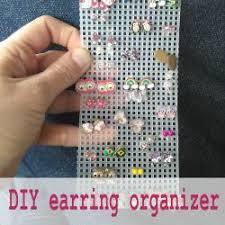 organize stud earrings best 25 organize earrings ideas on diy earrings