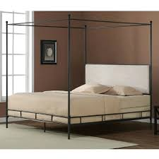 Black Canopy Bed Frame King Metal Canopy Bed Metal Canopy Bed Uptown White And Gold Youth