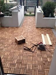 ikea runnen hack runnen decking outdoor brown stained decking patios and backyard