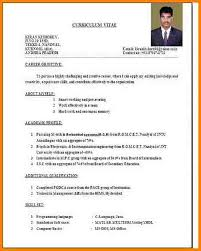 Sample Resume For Teaching Profession For Freshers by Job Resume Format Resume Examples Job Resume Examples