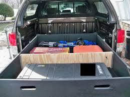 truck bed storage ideas diy