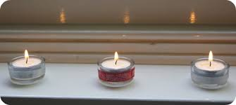 handmade christmas decorations tea light candles planning with