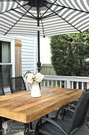 Patio Glass Table Home Decor How To Update An Outdated Outdoor Furniture