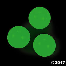 glow balls in the bouncing balls