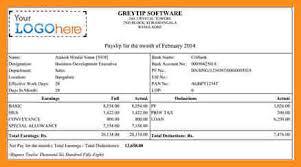 salary receipt template 4 employee salary slip format pdf parts of resume
